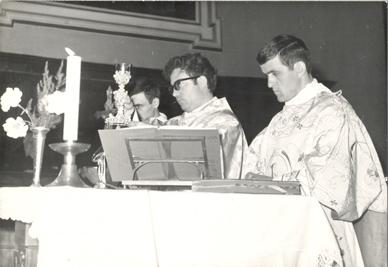 La prima messa celebrata a Santa Maria Maggiore a Vasto
