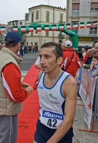 Il vincitore Fiorenzo Mariani