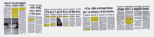 immagine dibattito in corso sulla carta stampata durante l'estate 2003