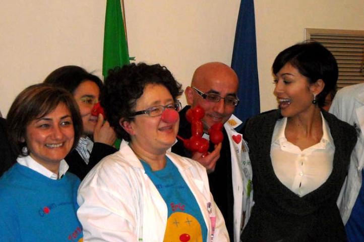 Volontari vastesi con il ministro Carfagna