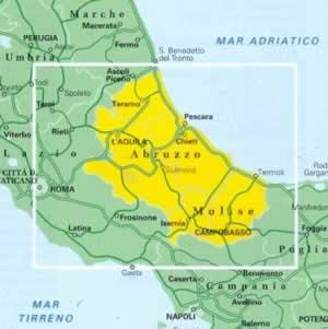 Cartina Abruzzo Molise Mare.Riunire Abruzzo E Molise Alleanza Per Vasto Condivide L Idea Del