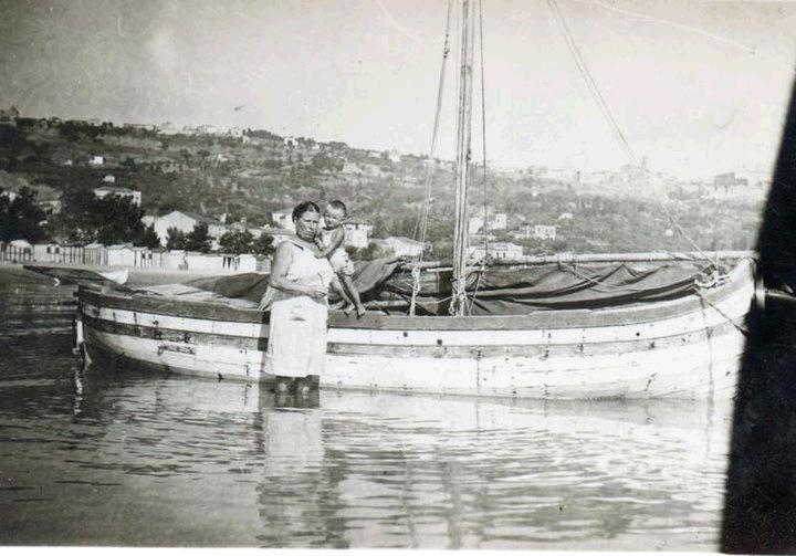Vasto Marina anni 50 (Oreste Marino Monteodorisio)