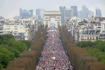 Podisti vastesi si preparano al prestigioso appuntamento for Parigi champ elisee