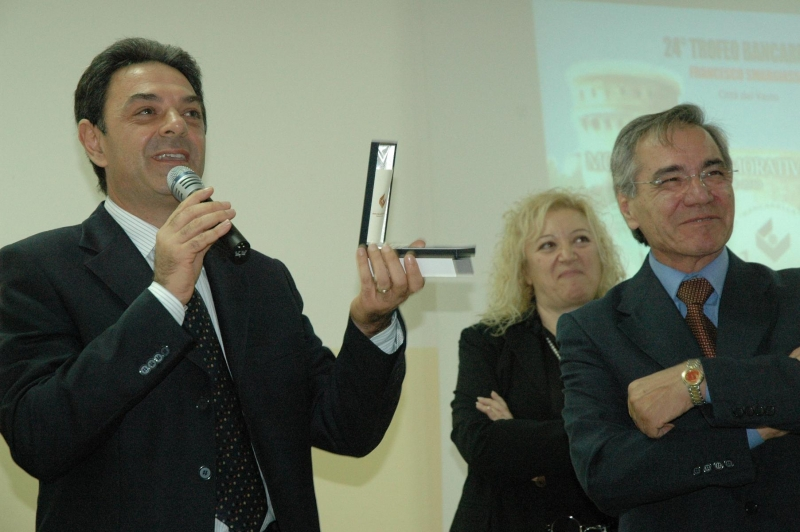 Nino Fuiano, dirigente del 'Palizzi', e Ottaviano Semerano