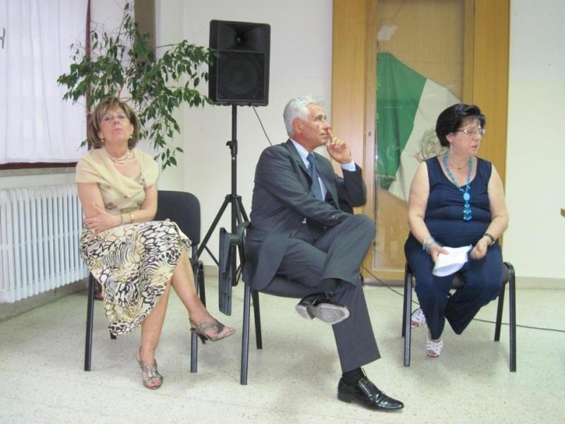 I docenti Mattia, Baccalà e Tommasi