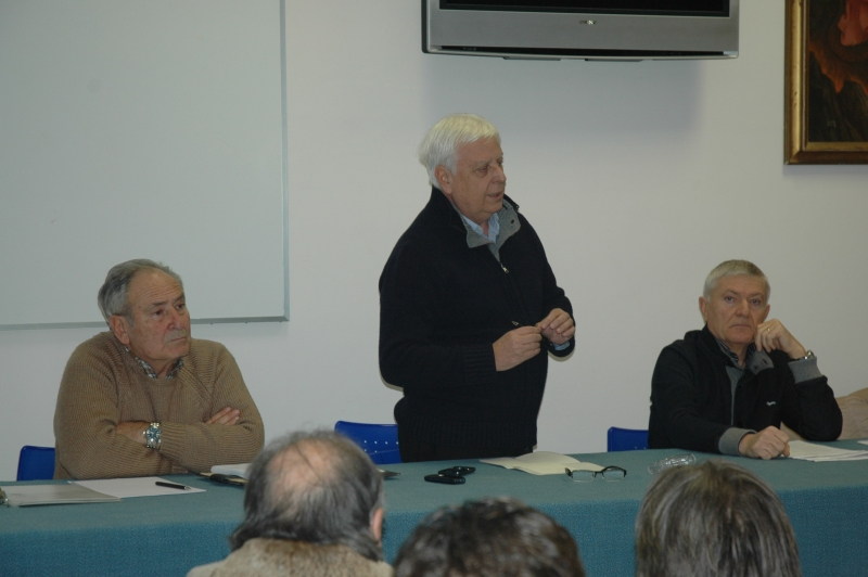D'Annunzio, Prospero e Falcucci