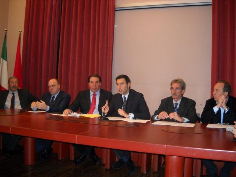 Presidenti di Province abruzzesi in conferenza stampa