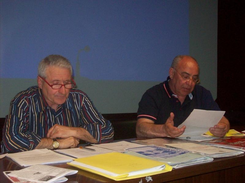 Ivo Menna e Franco Aldo Cucinieri del comitato vastese