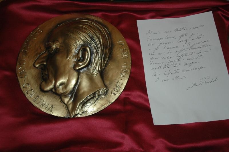 La medaglia commemorativa di Canci realizzata da Pachioli