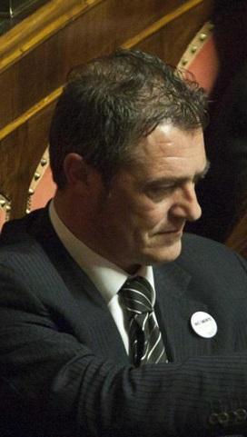 Il senatore vastese del Movimento 5 Stelle Gianluca Castaldi