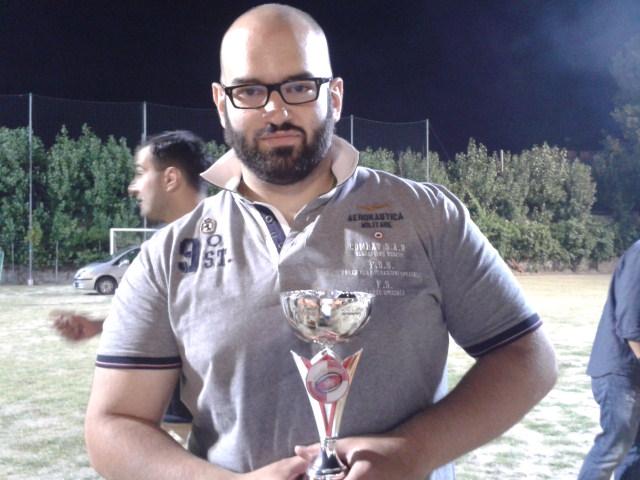 Alessandro Di Nella con l'Histonium Cup