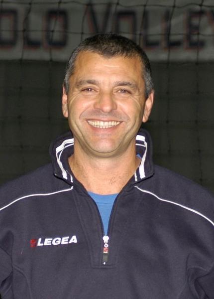 Mario Baiocco, coach della San Paolo Volley Vasto