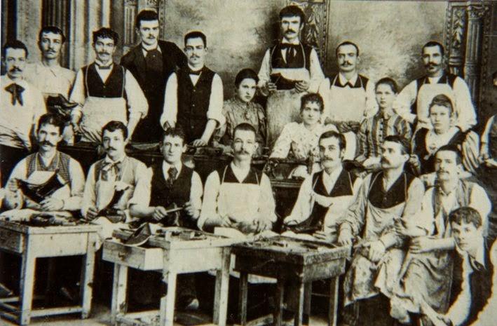 Ciabattini vastesi ( archivio G. Catania )