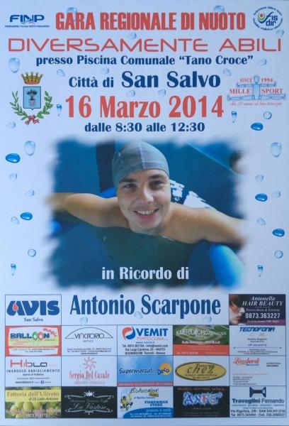 Una domenica 39 speciale 39 di nuoto nel ricordo del giovane - Piscina comunale san salvo ...