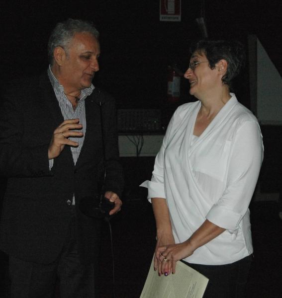 Nduccio e Paola Mucciconi dell'Anffas di Vasto