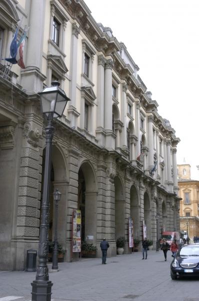 Il palazzo della Provincia di Chieti