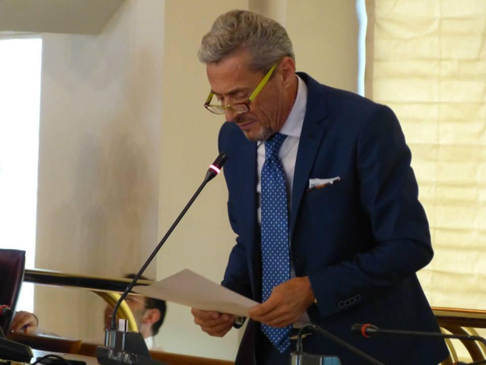 Il consigliere regionale Mario Olivieri
