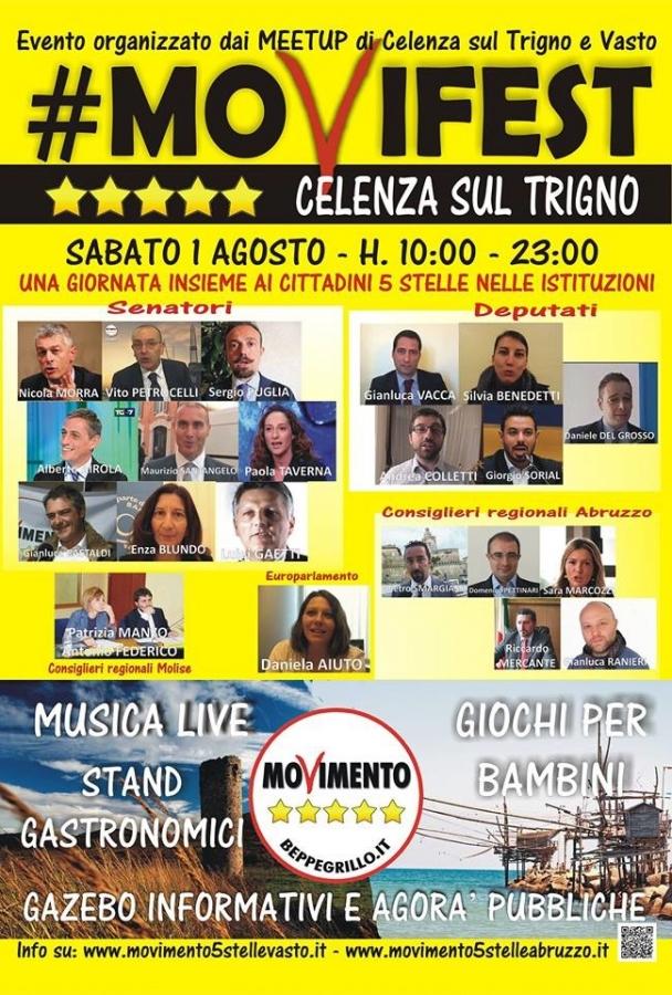39 movifest 39 parlamentari del movimento 5 stelle nel for Deputati movimento 5 stelle