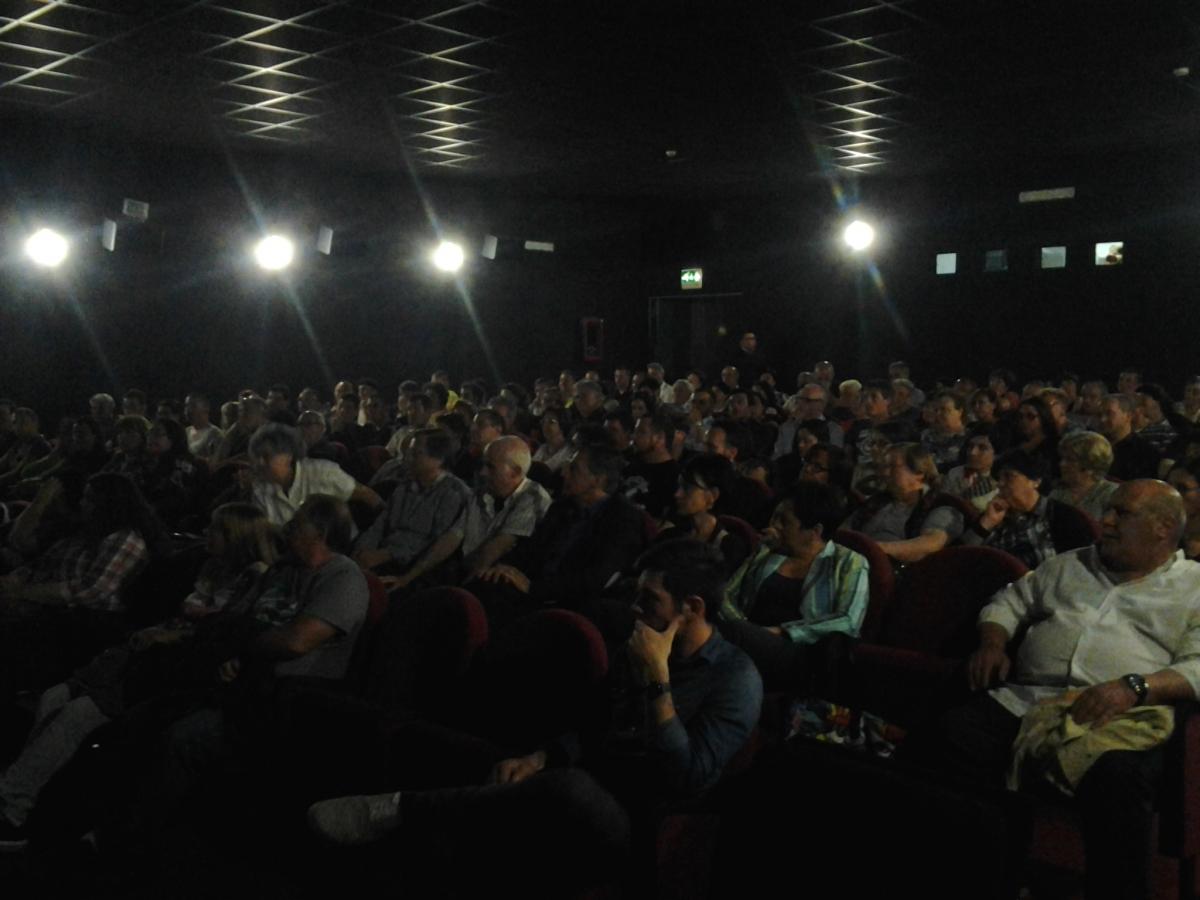 Il pubblico alla Multisala del Corso