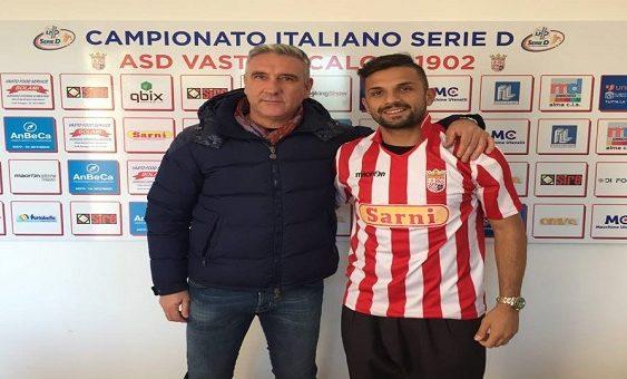 Mariano Romano con il presidente Franco Bolami