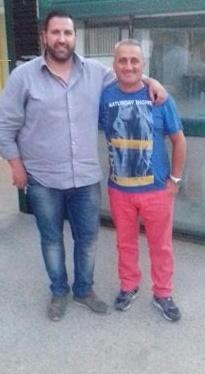 Roberto Celenza e Pasquale Cirulli