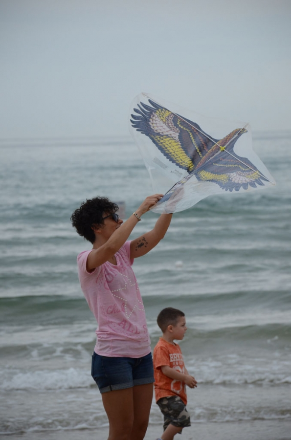 Lo spettacolo degli aquiloni sulla spiaggia di vasto for Piccoli disegni di casa sulla spiaggia