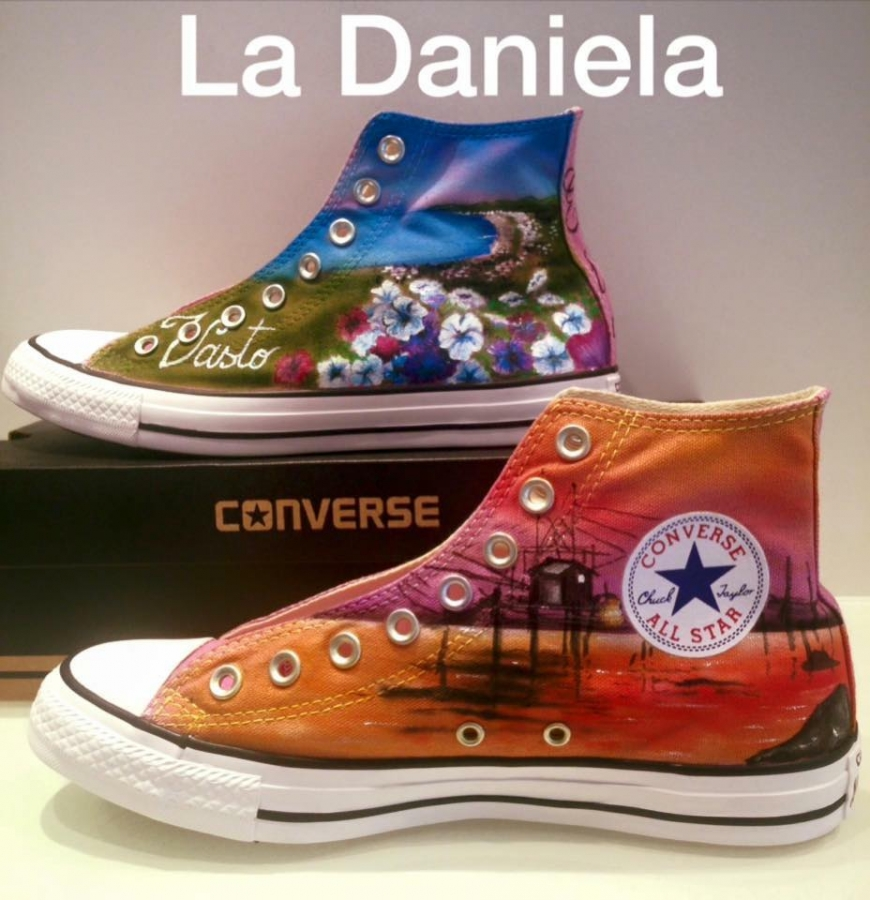 scarpe converse a vasto