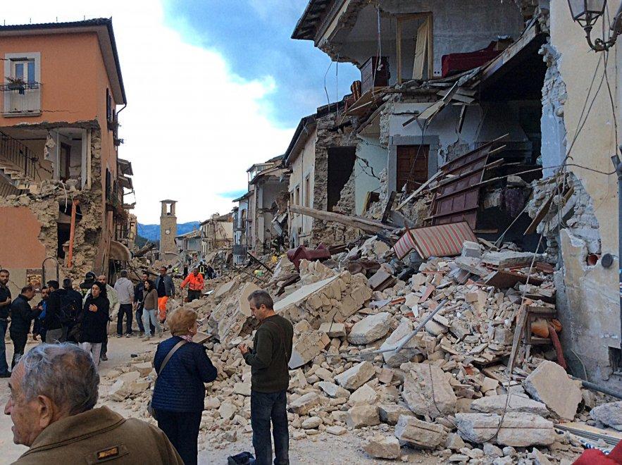 Terremoto Centro Italia: le scosse proseguiranno