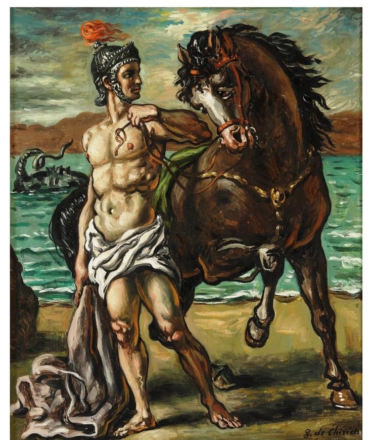 Giorgio De Chirico, 'Perseo con il cavallo'