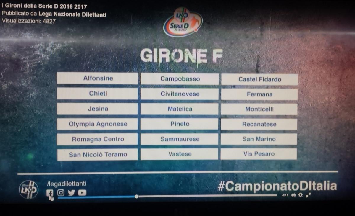Vis Pesaro, reso noto il girone F: quattro romagnole la grande novitá