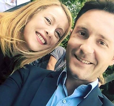 Giorgia Meloni e Maurizio Millico