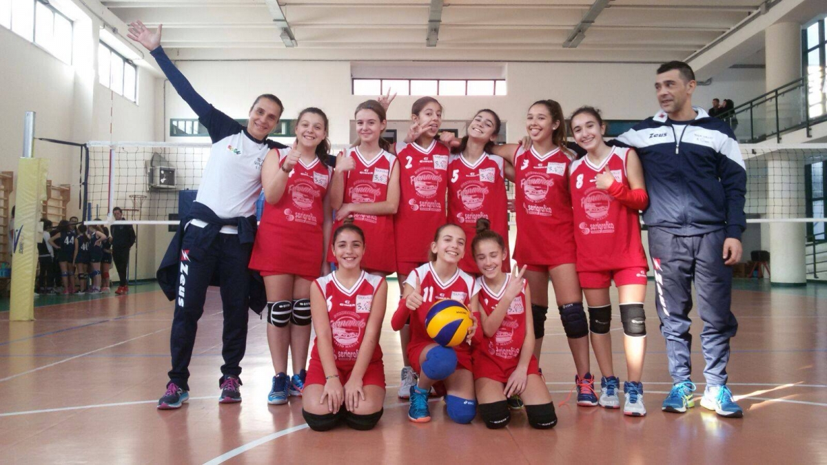 La formazione Under 13 Team Volley 3.0