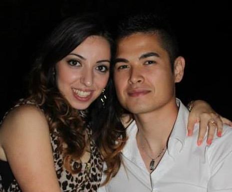 Jessica Tinari ed il suo ragazzo Marco Tanda