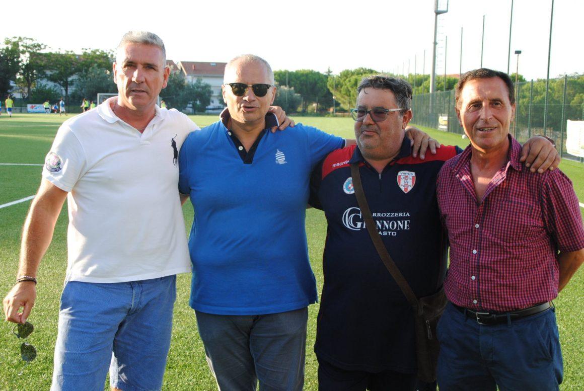 Franco Bolami, Giuseppe De Cillis, Massimo Giannone e Lucio Rullo