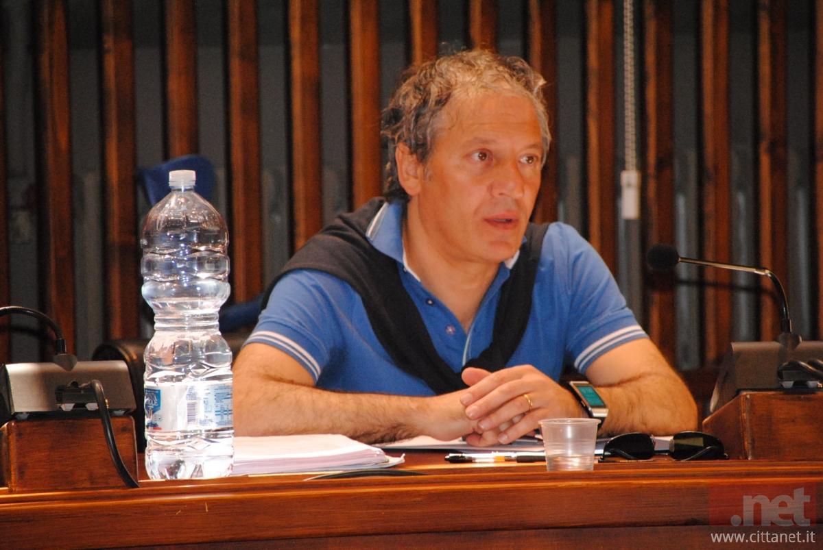 Il consigliere comunale Alessandro D'Elisa