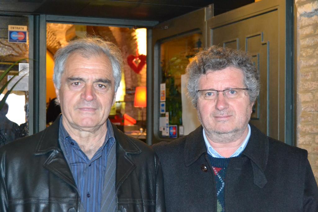 Francesco Paolo D'Adamo e l'amico Lucio Ritucci