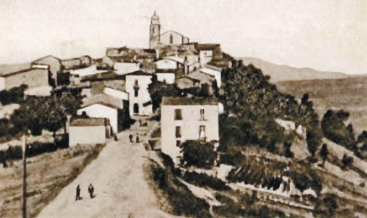Guilmi (CH): Panorama da Via S. Rocco
