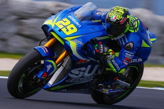 MotoGP Barcellona, FP4: Pedrosa, miglior tempo e caduta, Iannone è secondo