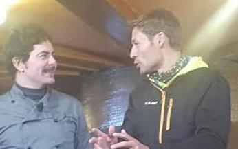 Jean Pierre Soria con Massimiliano Ossini