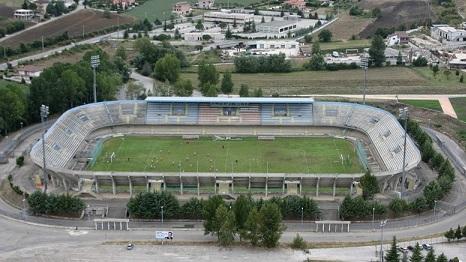Lo stadio Nuovo Romagnoli di Campobasso - Foto informamolise.com