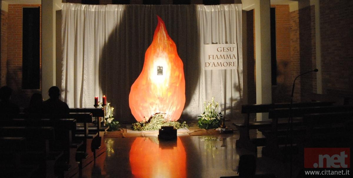 Il Sepolcro nella chiesa di San Francesco a Vasto Marina