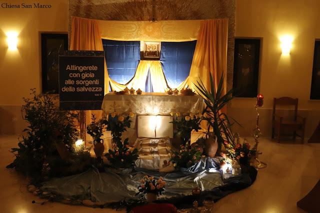 Il Sepolcro nella chiesa di San Marco