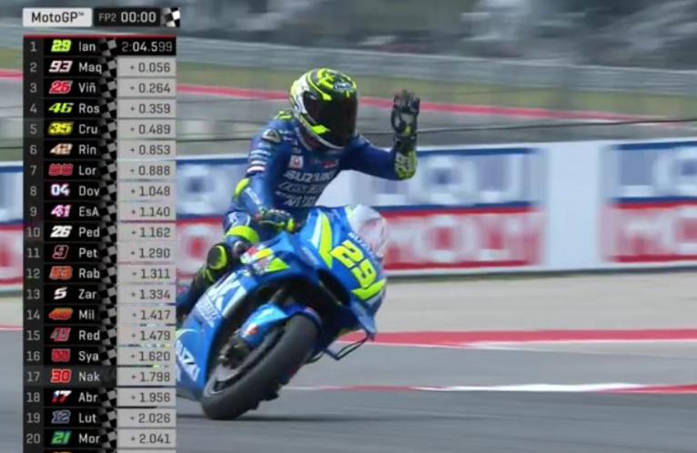 Gp Americhe, pole a Marquez prima della penalità: Vinales secondo, Iannone terzo
