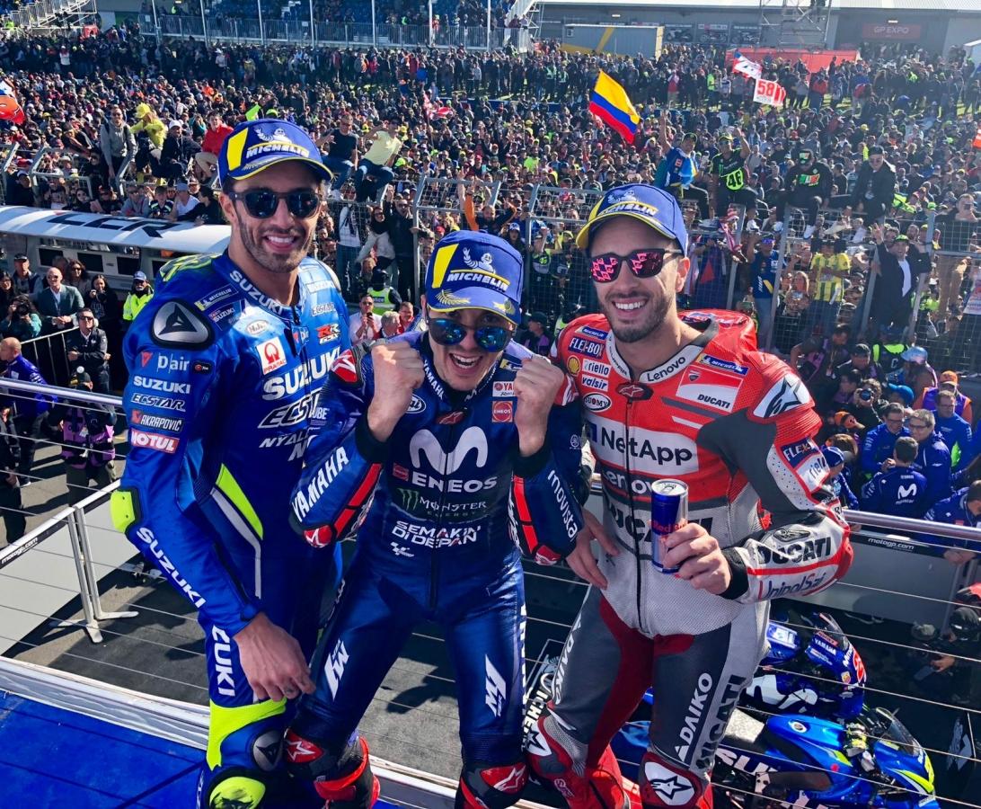 Foto tratta dalla pagina Twitter di MotoGP