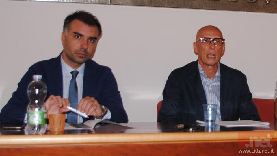 Giuseppe La Rana e Marcello Dassori, direttore e presidente di Assovasto