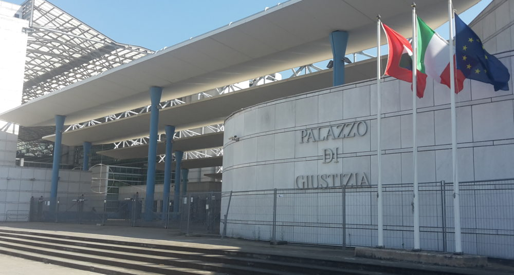 Foto del Tribunale di Pescara da abr24.it