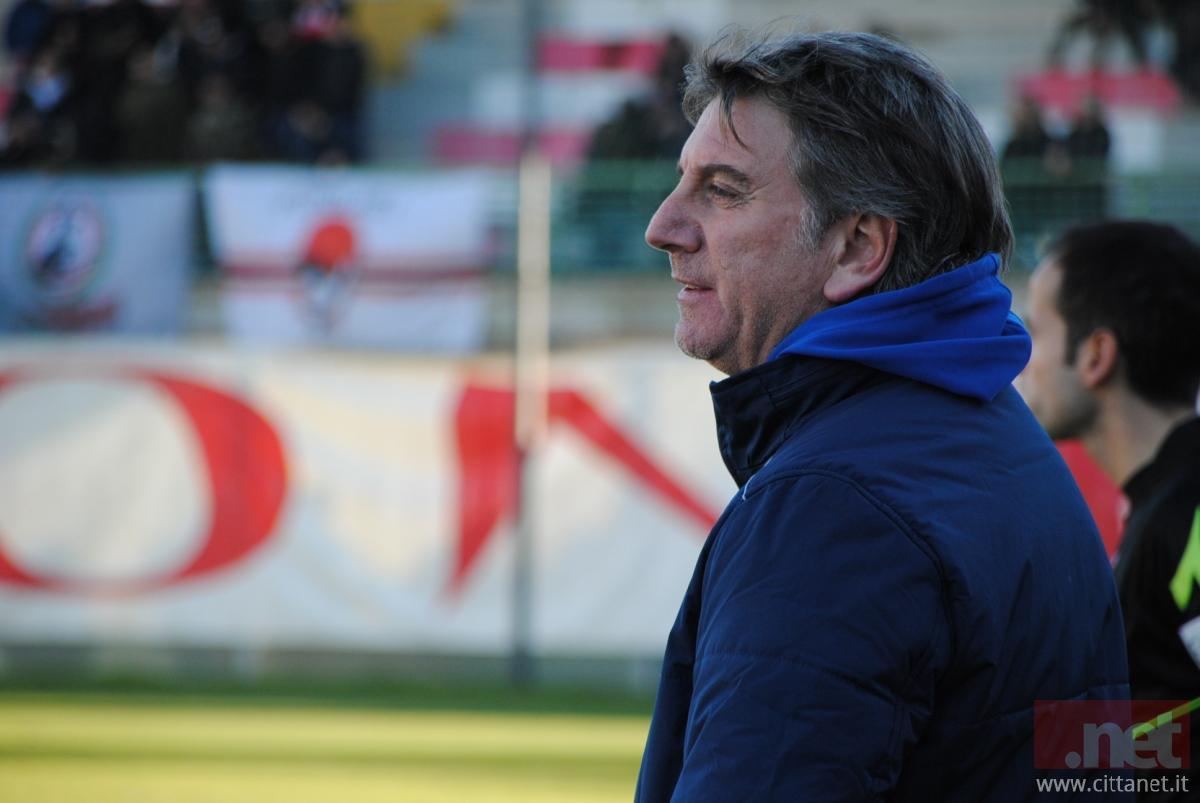 L'allenatore Fabio Montani