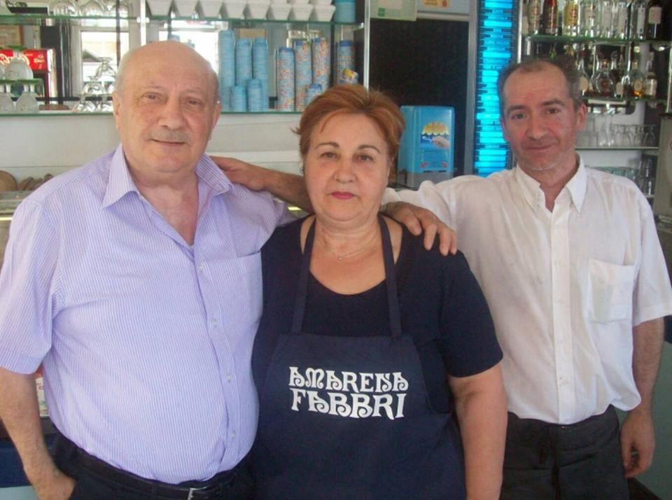 Giuseppe e Maria Giammarino assieme a Franco Ingrami
