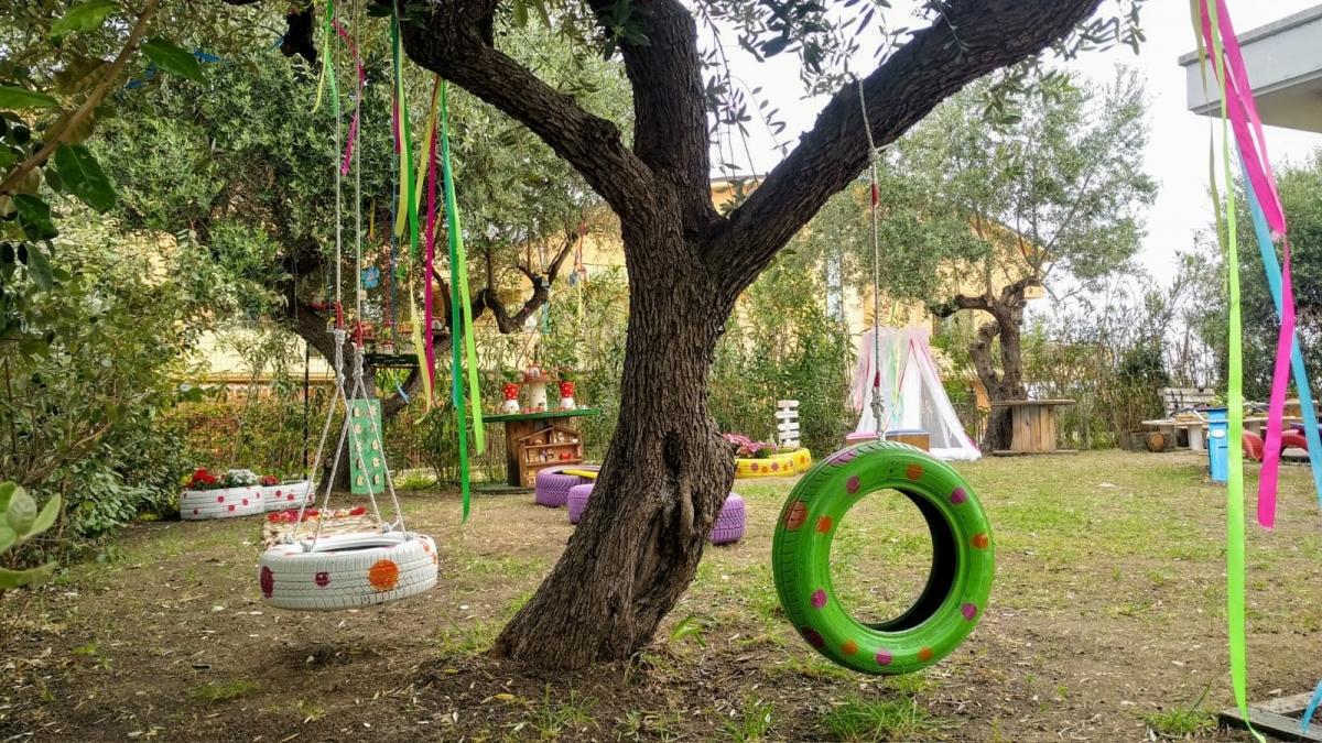 'Giardino di Primavera' all'asilo nido 'La Tana dei Cuccioli'