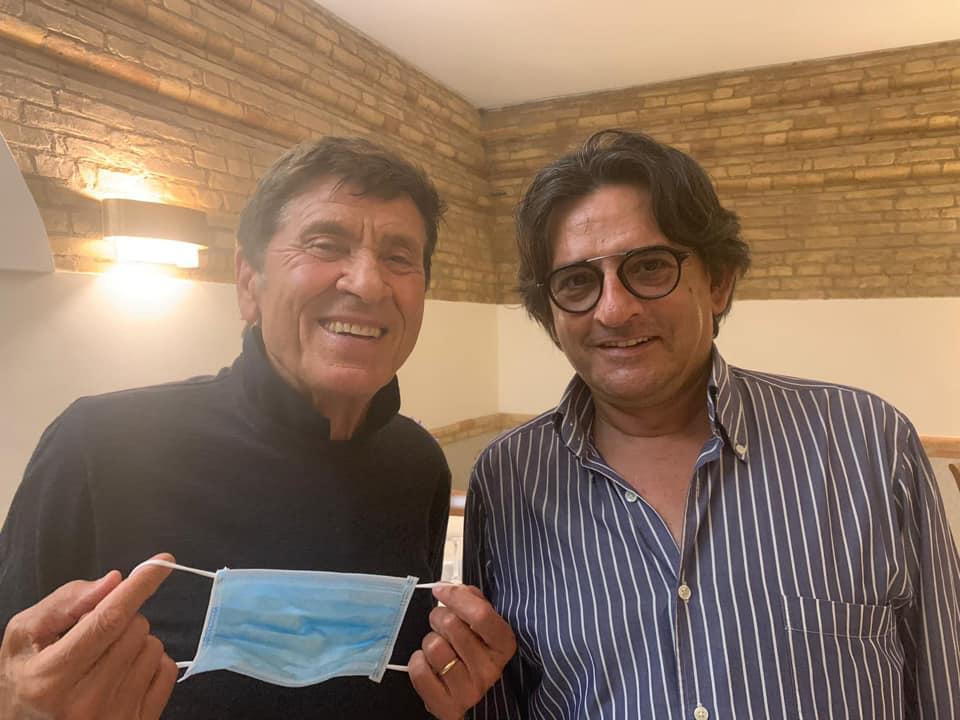Gianni Morandi e Marino Artese